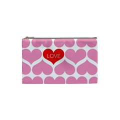 One Love Cosmetic Bag (small) by Kathrinlegg