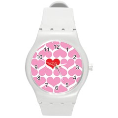 One Love Plastic Sport Watch (medium) by Kathrinlegg