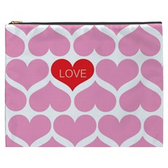 One Love Cosmetic Bag (xxxl) by Kathrinlegg