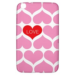 One Love Samsung Galaxy Tab 3 (8 ) T3100 Hardshell Case  by Kathrinlegg