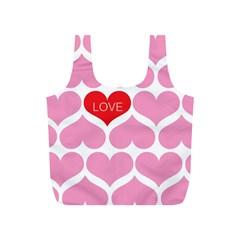 One Love Reusable Bag (S) by Kathrinlegg