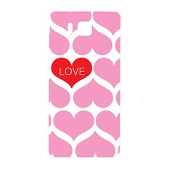 One Love Samsung Galaxy Alpha Hardshell Back Case by Kathrinlegg