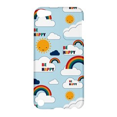 Be Happy Repeat Apple Ipod Touch 5 Hardshell Case by Kathrinlegg