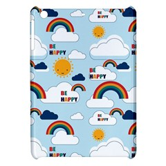 Be Happy Repeat Apple Ipad Mini Hardshell Case by Kathrinlegg