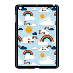 Be Happy Repeat Apple Ipad Mini Case (black) by Kathrinlegg
