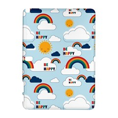 Be Happy Repeat Samsung Galaxy Note 10 1 (p600) Hardshell Case by Kathrinlegg