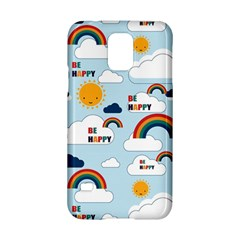 Be Happy Repeat Samsung Galaxy S5 Hardshell Case  by Kathrinlegg