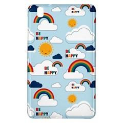 Be Happy Repeat Samsung Galaxy Tab Pro 8 4 Hardshell Case by Kathrinlegg