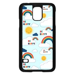 Be Happy Repeat Samsung Galaxy S5 Case (black) by Kathrinlegg