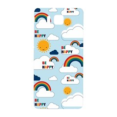 Be Happy Repeat Samsung Galaxy Alpha Hardshell Back Case by Kathrinlegg