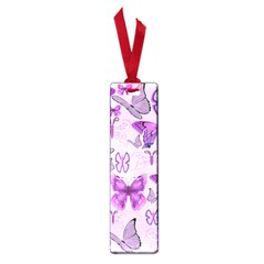 Purple Awareness Butterflies Small Bookmark by FunWithFibro