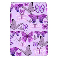 Purple Awareness Butterflies Removable Flap Cover (large) by FunWithFibro