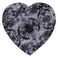 Nature Collage Print  Jigsaw Puzzle (heart) by dflcprints
