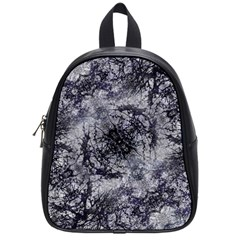 Nature Collage Print  School Bag (small) by dflcprints
