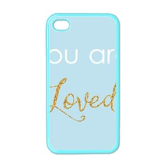 You Are Loved Apple Iphone 4 Case (color) by Kathrinlegg