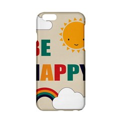 Be Happy Apple Iphone 6 Hardshell Case by Kathrinlegg