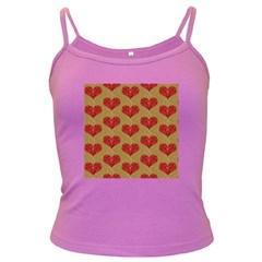 Sparkle Heart  Spaghetti Top (Colored) by Kathrinlegg