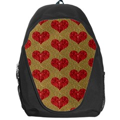 Sparkle Heart  Backpack Bag by Kathrinlegg