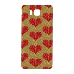 Sparkle Heart  Samsung Galaxy Alpha Hardshell Back Case by Kathrinlegg