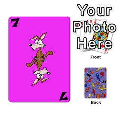 Bl Missing Cards By Thomas    Playing Cards 54 Designs (rectangle)   I78b6tfunzo7   Www Artscow Com Front - Diamond8
