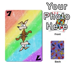 Bl Missing Cards By Thomas    Playing Cards 54 Designs (rectangle)   I78b6tfunzo7   Www Artscow Com Front - Club10