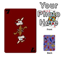 Bl Missing Cards By Thomas    Playing Cards 54 Designs (rectangle)   I78b6tfunzo7   Www Artscow Com Front - Spade8