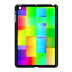 Colorful Gradient Shapes Apple Ipad Mini Case (black) by LalyLauraFLM