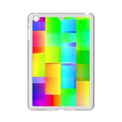 Colorful Gradient Shapes Apple Ipad Mini 2 Case (white) by LalyLauraFLM
