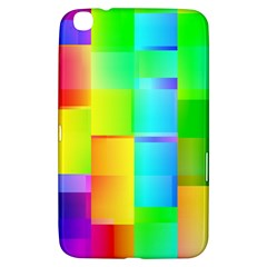 Colorful Gradient Shapes Samsung Galaxy Tab 3 (8 ) T3100 Hardshell Case  by LalyLauraFLM