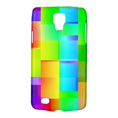 Colorful Gradient Shapes Samsung Galaxy S4 Active (i9295) Hardshell Case by LalyLauraFLM
