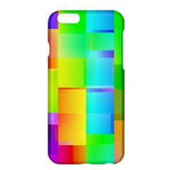 Colorful Gradient Shapes apple Iphone 6 Plus Hardshell Case by LalyLauraFLM