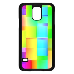 Colorful Gradient Shapes samsung Galaxy S5 Case by LalyLauraFLM