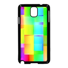 Colorful Gradient Shapes  Samsung Galaxy Note 3 Neo Hardshell Case by LalyLauraFLM
