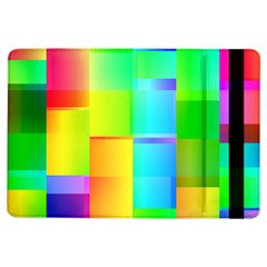 Colorful Gradient Shapes 	apple Ipad Air Flip Case by LalyLauraFLM