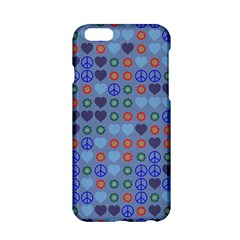 Peace And Loveapple Iphone 6 Hardshell Case by LalyLauraFLM