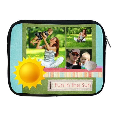 Summer By Summer Time    Apple Ipad Zipper Case   Rvjtkyxnkean   Www Artscow Com Front