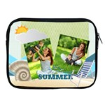 summer - Apple iPad Zipper Case
