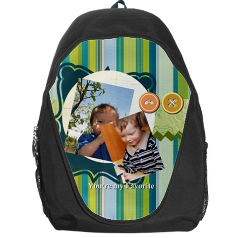 Kids By Kids   Backpack Bag   Qj5lpqkjm0gu   Www Artscow Com Front