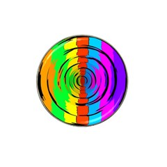Rainbow Test Pattern Golf Ball Marker 10 Pack (for Hat Clip) by StuffOrSomething
