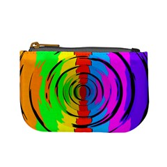 Rainbow Test Pattern Coin Change Purse by StuffOrSomething