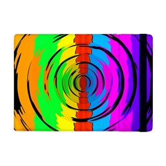 Rainbow Test Pattern Apple Ipad Mini Flip Case by StuffOrSomething