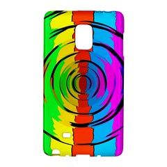 Rainbow Test Pattern Samsung Galaxy Note Edge Hardshell Case