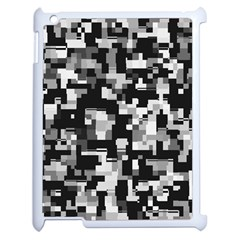 Background Noise In Black & White Apple Ipad 2 Case (white) by StuffOrSomething