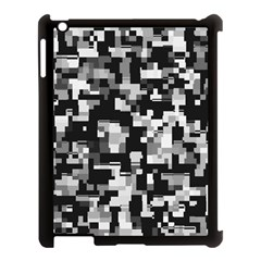 Background Noise In Black & White Apple Ipad 3/4 Case (black) by StuffOrSomething
