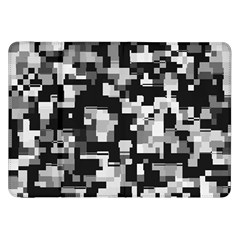 Background Noise In Black & White Samsung Galaxy Tab 8 9  P7300 Flip Case by StuffOrSomething