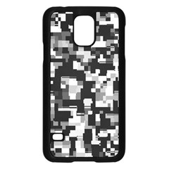 Background Noise In Black & White Samsung Galaxy S5 Case (Black) by StuffOrSomething