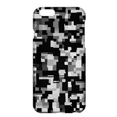 Background Noise In Black & White Apple iPhone 6 Plus Hardshell Case by StuffOrSomething