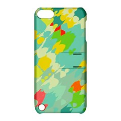 Smudged Shapes Apple Ipod Touch 5 Hardshell Case With Stand by LalyLauraFLM