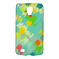 Smudged Shapes Samsung Galaxy S4 Active (i9295) Hardshell Case by LalyLauraFLM