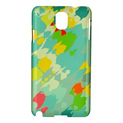 Smudged Shapes Samsung Galaxy Note 3 N9005 Hardshell Case by LalyLauraFLM